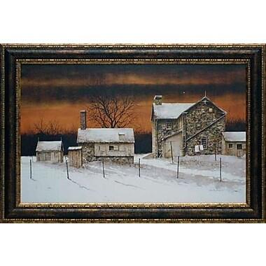 North American Art 'Evening Star' by Ray Hendershot Framed Painting Print