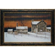 North American Art 'Evening Star' by Ray Hendershot Framed Painting Print