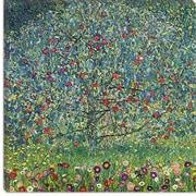 iCanvas 'Apfelbaum (Apple Tree)' by Gustav Klimt Painting Print on Canvas; 12'' H x 12'' W x 1.5'' D