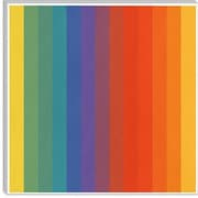 iCanvas Modern Art cPride Pattern Modern Graphic Art on Canvas; 26'' H x 26'' W x 0.75'' D