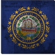 iCanvasArt Flags New Hampshire Graphic Art on Canvas; 12'' H x 12'' W x 0.75'' D
