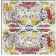 iCanvas One Canadian Dollar 3 Graphic Art on Canvas; 18'' H x 18'' W x 1.5'' D