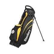 Wilson NFL Golf Cart Carry Bag; Steelers