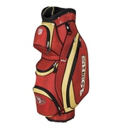 Wilson NFL Golf Cart Bag; 49ers