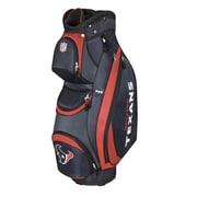 Wilson NFL Golf Cart Bag; Texans