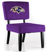Imperial NFL Side Chair; Baltimore Ravens