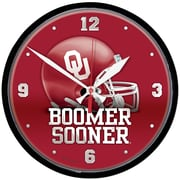 Wincraft 12.75'' University of Oklahoma Boomer Sooner Wall Clock
