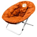 Logo Chairs NCAA Sphere Lounge Chair; Clemson