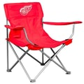 Logo Chairs NHL Canvas Fabric Arm Chair; Detroit Red Wings