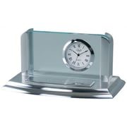 Chass Business Card Holder Desk Clock