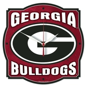 Wincraft NCAA University of Georgia High Def Plaque Wall Clock