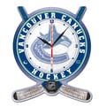 Wincraft NHL Plaque Wall Clock; Vancouver Canucks