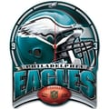 Wincraft NFL High Def Plaque Wall Clock; Philadelphia Eagles