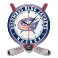 Wincraft NHL Plaque Wall Clock; Columbus Blue Jackets