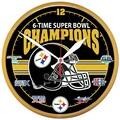 Wincraft 12.75'' Super Bowl Champions Wall Clock