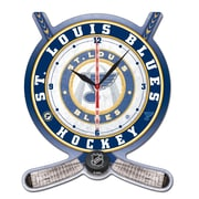 Wincraft NHL Plaque Wall Clock; St. Louis Blues