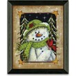 Timeless Frames Feathered Friend Winter and Holiday Framed Graphic Art