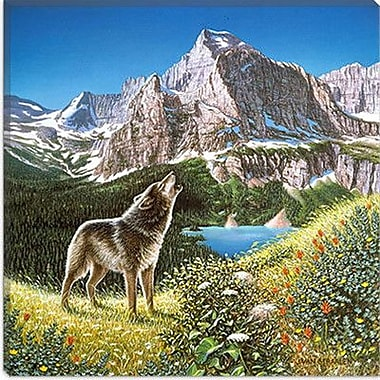 iCanvas ''Alpine Chorus'' Canvas Wall Art by John Van Straalen; 37'' H x 37'' W x 0.75'' D