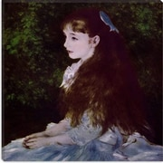 iCanvas ''Girl with a Blue Ribbon'' Canvas Wall Art by Auguste Renoir; 12'' H x 12'' W x 1.5'' D