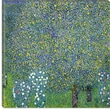 iCanvasArt ''Rose, 1904'' Canvas Wall Art by Gustav Klimt; 12'' H x 12'' W x 1.5'' D