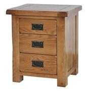 Gallerie Decor Oakdale 3 Drawer Cabinet