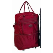 Preferred Nation Expandable Boarding Tote; Burgundy