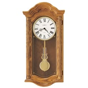 Howard Miller Lambourn Wall Clock; Golden Oak