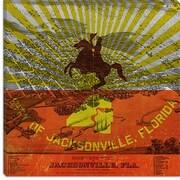 iCanvas Jacksonville Flag, Vintage Map Graphic Art on Canvas; 12'' H x 12'' W x 0.75'' D