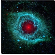 iCanvas Dying Helix Nebula (Spitzer Space Telescope) Canvas Wall Art; 18'' H x 18'' W x 1.5'' D