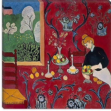 iCanvas ''The Red Room (1908)'' by Henri Matisse Painting Print on Wrapped Canvas