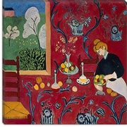 iCanvas ''The Red Room (1908)'' Canvas Wall Art by Henri Matisse; 12'' H x 12'' W x 1.5'' D