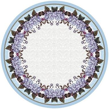 Betsy Drake Interiors Hydrangea Round Tablecloth; 58'' W Round