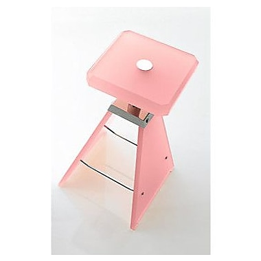 Toscanaluce by Nameeks Washroom Stool; Transparent