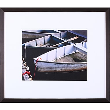 Art Effects 'Wooden Rowboats V' by Rachel Perry Framed Photographic Print