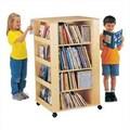 Jonti-Craft ThriftyKYDZ Multimedia 46.5'' Book Cart; Ready to Assemble