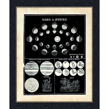 Melissa Van Hise Mars and Jupiter Framed Graphic Art