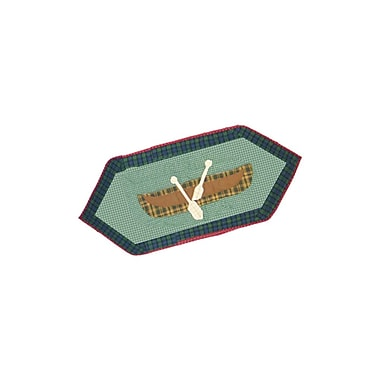Patch Magic Cabin Table Runner; 36'' W x 16'' L