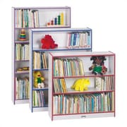 Jonti-Craft Rainbow Accents 48'' Bookcase; Purple