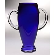Majestic Crystal Classic Clear Trophy Vase; 12'' H x 9.5'' W x 5'' D