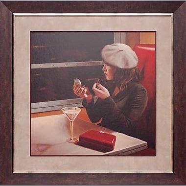 North American Art 'Dry Martini Crop II' by Myles Sullivan Framed Painting Print