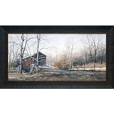 North American Art 'Kissin Bridge' by Ray Hendershot Framed Photographic Print