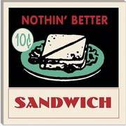 iCanvas Sandwich Advertising Vintage Poster; 18'' H x 18'' W x 0.75'' D
