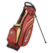 Wilson NFL Golf Cart Carry Bag; 49ers