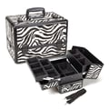 Seya Zebra Locking Cosmetic Makeup Case