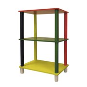 ORE Furniture Kid's 3 Tier Rectangle 28.5'' Bookcase