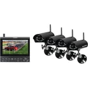 Security Man Complete 4 Digital Wireless Camera LCD/DVR System
