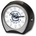 Cottage Garden Collegiate Alarm Table Clock; University of Connecticut