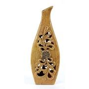 Privilege Pierced Vase; 24.5'' H x 8.5'' W x 5'' D