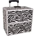 Casemetic Animal Print Rolling Makeup Case; Zebra