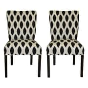 Sole Designs Julia Side Chairs (Set of 2)